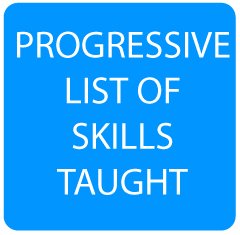 Progressive List of Skills