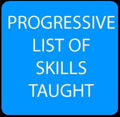 Progressive List of Skills
